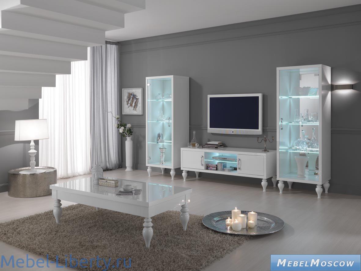 Итальянские современные гостиные