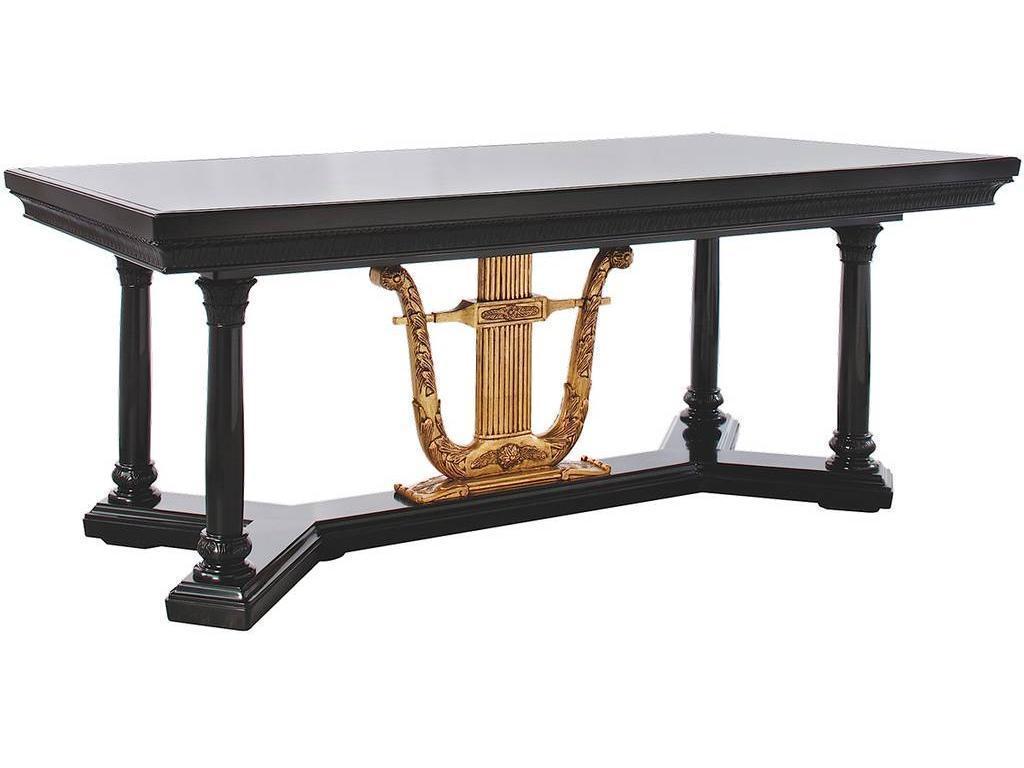 Misendemeure: стол письменный(эбеновое дерево, золото ...