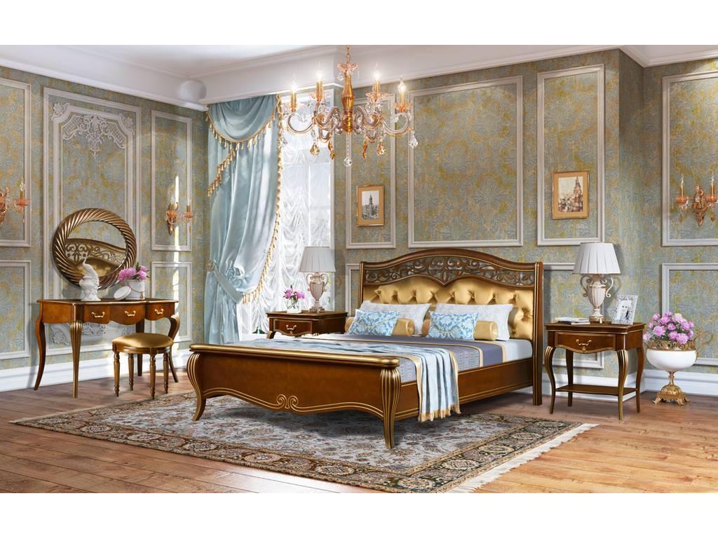 Zzibo Mobili спальня классикаорех золото мебель либерти