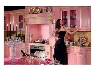 Итальянская кухня классика мебель